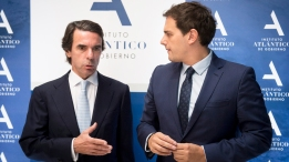jose-maria-aznar-albert-rivera
